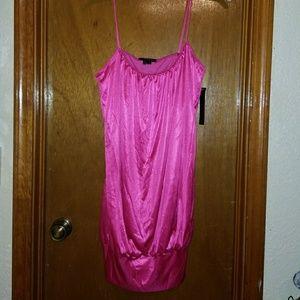 Dresses & Skirts - Shiny Pink Dress